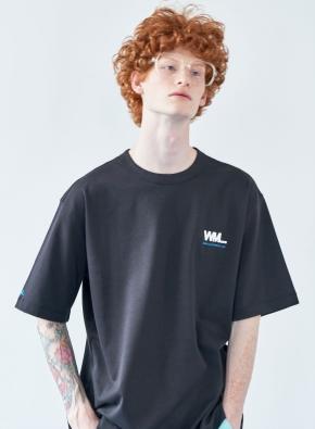 [WML] 풀 스퀘어 그래픽 오버 티셔츠
