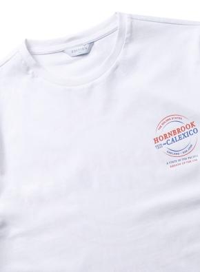 혼브룩 라운드 그래픽 티셔츠 (WT)