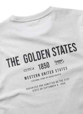 골디 레터링 그래픽 티셔츠 (GR)