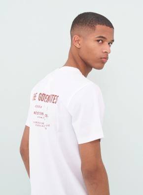 골디 레터링 그래픽 티셔츠 (WT)