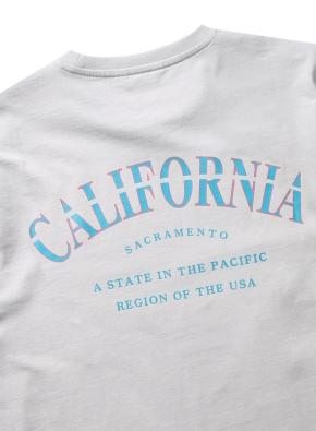 캘리포니아 레터링 그래픽 티셔츠(GR)