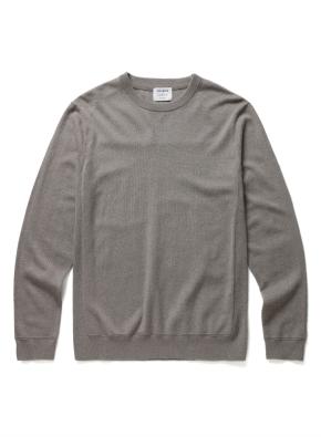 [20FW신상] 캐시미어 플러스 시그니쳐 스웨터 (BE)