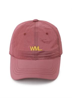 [WML] 메탈릭 로고 포인트 볼캡 (WN)