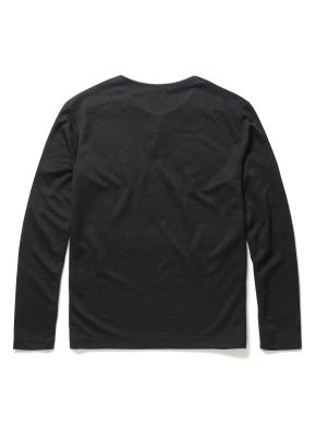 라운드 슬릿넥 티셔츠 (CGR)