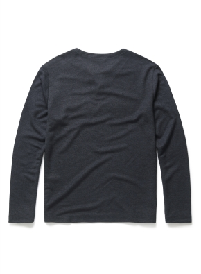 라운드 슬릿넥 티셔츠 (MNV)