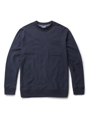 포켓 라운드 스웻 티셔츠 (TBL)