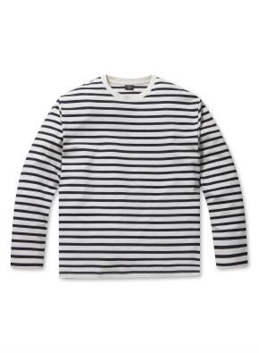 남성 면 긴팔 티셔츠(그래픽&스트라이프) _ (WTP)