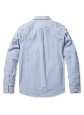 남성 코튼 옥스퍼드 버튼다운 긴팔 셔츠 _ (BL)