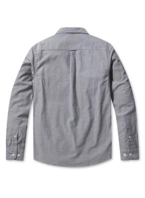 남성 코튼 옥스퍼드 버튼다운 긴팔 셔츠 _ (GR)