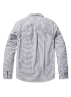 남성 코튼 옥스퍼드 버튼다운 긴팔 셔츠 _ (SBK)