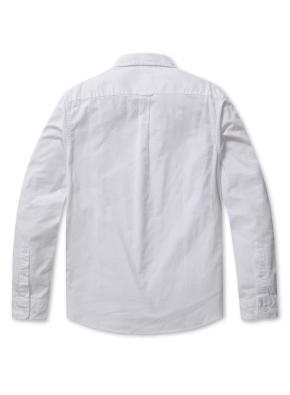 남성 코튼 옥스퍼드 버튼다운 긴팔 셔츠 _ (WT)
