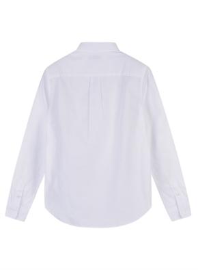 여성 코튼 옥스퍼드 베이직핏 긴팔 셔츠 _ (WT)