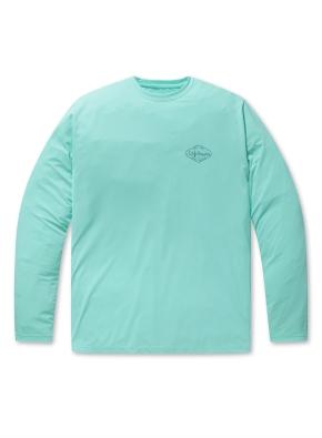 래쉬가드 그래픽 루즈핏 긴팔 티셔츠