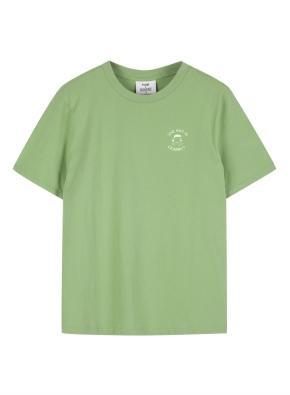 여성 피너츠 콜라보 반팔 티셔츠
