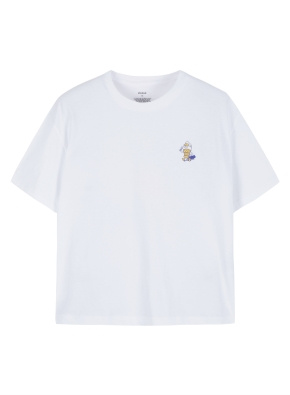 여성 핫섬머 그래픽 크루넥 반팔 티셔츠