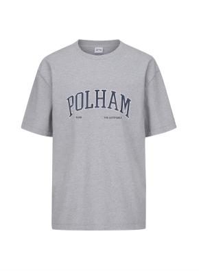 로고 그래픽 오버핏 반팔 티셔츠