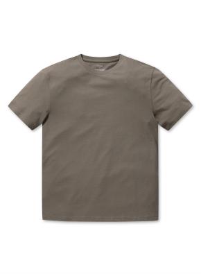 라운드넥 베이직 반팔 티셔츠