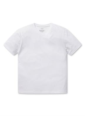 브이넥 베이직 반팔 티셔츠