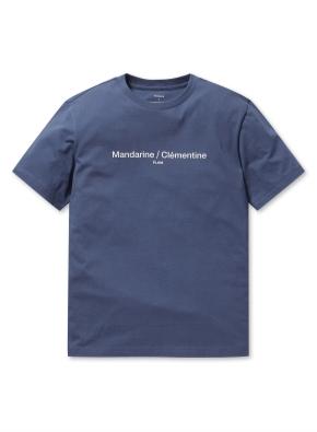 남여공용 베이직 그래픽 반팔 티셔츠 _ (DBL)