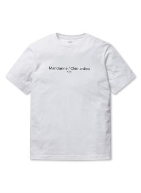 남여공용 베이직 그래픽 반팔 티셔츠 _ (WT)