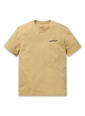 베이직 그래픽 반팔 티셔츠