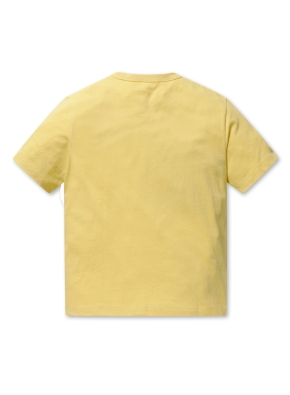 코튼 호놀룰루 그래픽 오버핏 반팔 티셔츠
