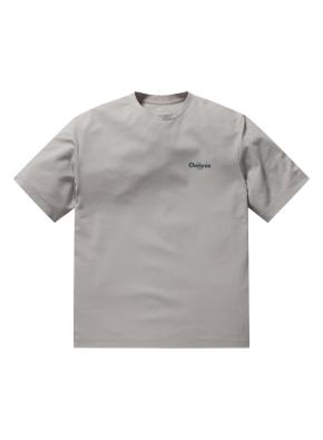 쿨텐션 프린트 반팔 티셔츠