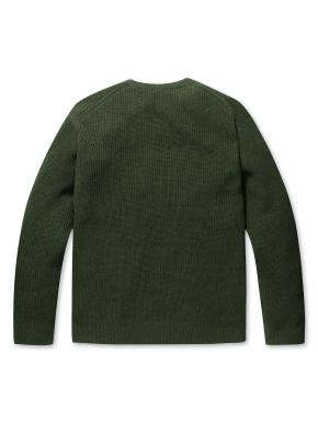 하찌 크루넥 커넥트 스웨터