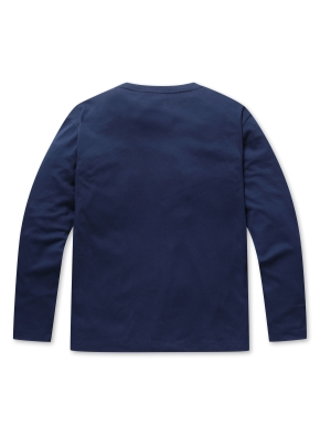 베이직 크루넥 긴팔 티셔츠