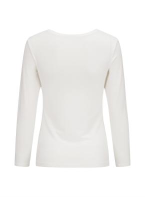 여성 핫스킨 크루넥 긴팔 티셔츠