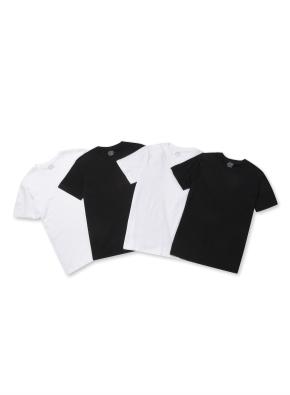 남여공용 3+1팩 반팔 티셔츠 _ (WBB)