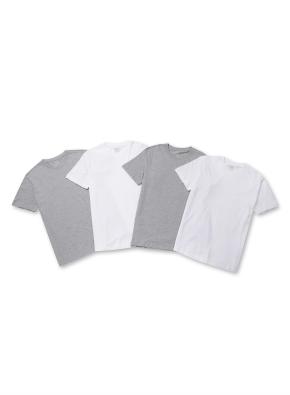 남여공용 3+1팩 반팔 티셔츠 _ (WGG)