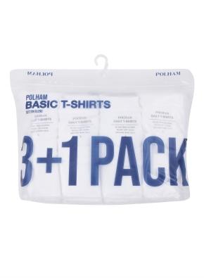 남여공용 3+1팩 반팔 티셔츠 _ (WWW)