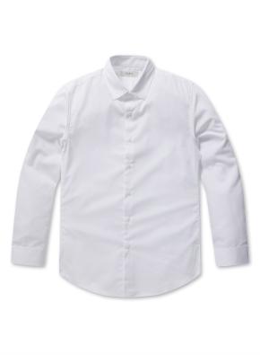 남성 코튼혼방 히든 버튼다운 드레스 셔츠 _ (WT)