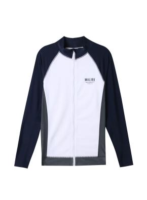 남성 비치웨어 집업 티셔츠 _ (WNV)