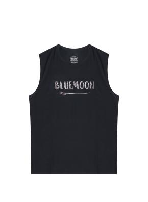 남성 비치웨어 민소매 티셔츠 _ (BK)