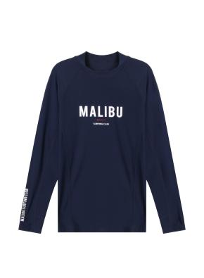남성 비치웨어 풀오버 티셔츠 _ (NV)