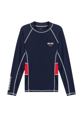 남성 비치웨어 풀오버 티셔츠 _ (NVR)