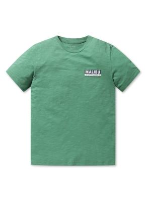 남여공용 말리부 그래픽 반팔 티셔츠 _ (GN)