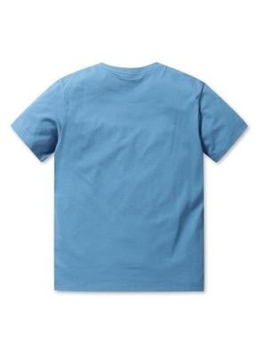 남여공용 말리부 포켓 반팔 티셔츠 _ (SBL)