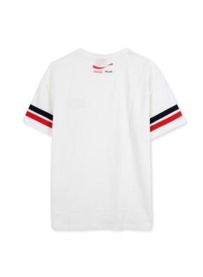 남여공용 코카콜라 오버핏 반팔 티셔츠 _ (OWT)