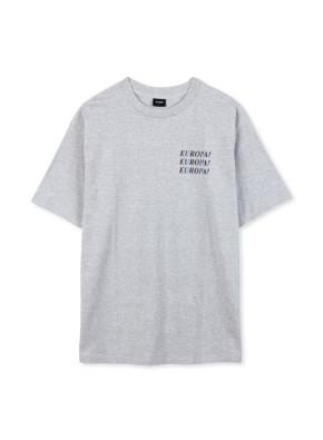 남여공용 레터링 반팔 티셔츠 _ (MGR)