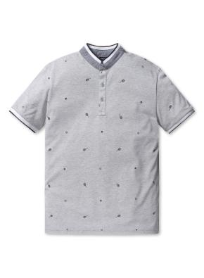 남성 패턴 피케 티셔츠 _ (MGR)