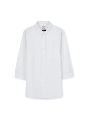 남성 스트라이프 7부 셔츠 _ (SWT)