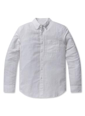 남성 린넨 패턴 셔츠 _ (WT)