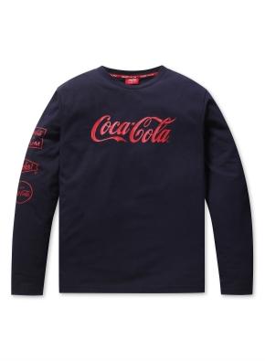 공용 코카콜라 콜라보 티셔츠  _ (NV)