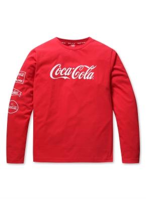 공용 코카콜라 콜라보 티셔츠  _ (RD)