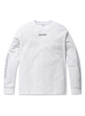 공용 소매 프린트 싱글 티셔츠  _ (WT)