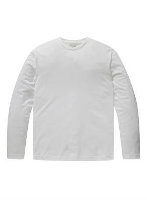 라운드넥 베이직 긴팔 티셔츠