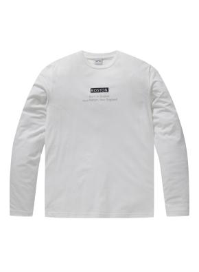 베이직 로고 긴팔 티셔츠